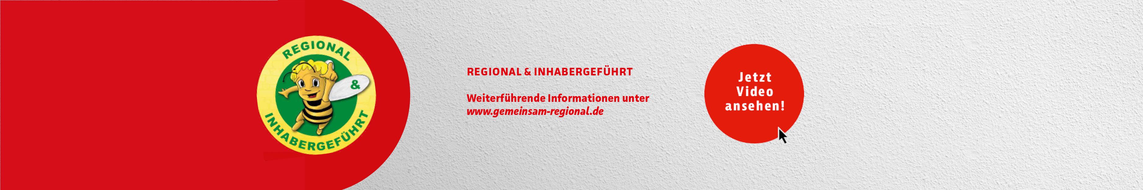Regional und inhabergeführt